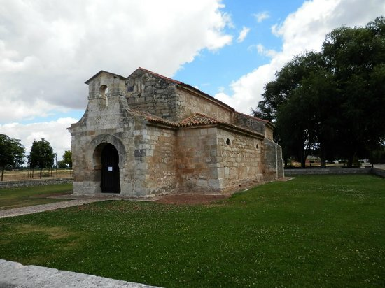 Church of San Juan Bautista, Banos de Cerrato: vista exterior