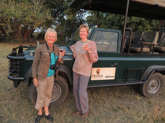 Ngoma Safari Lodge: Sundowners