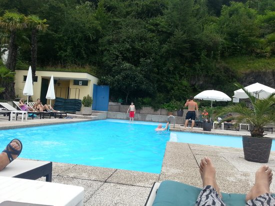 Hotel Campione: Lovely Pool