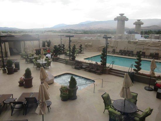 Atlantis Casino Resort Spa: Swimming Pool Area, Atlantis Casino, Reno, NV