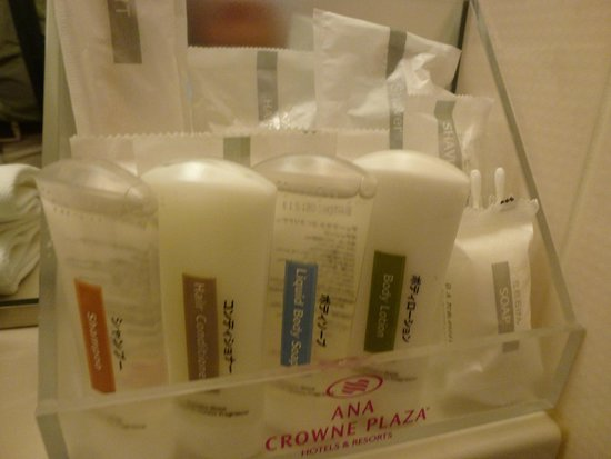 ANA Crowne Plaza Hotel Narita: amenities available in the room