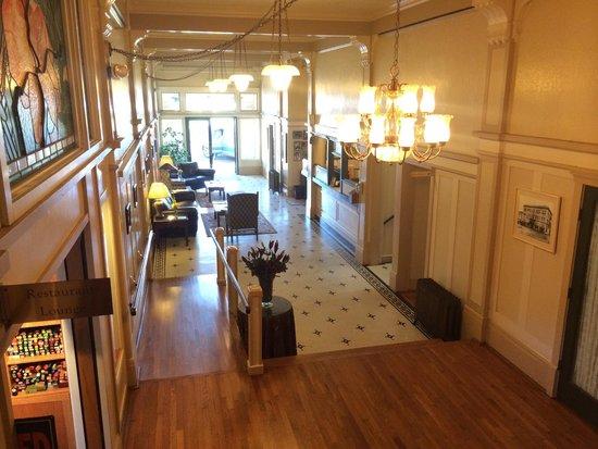 Hotel Arcata: Lobby