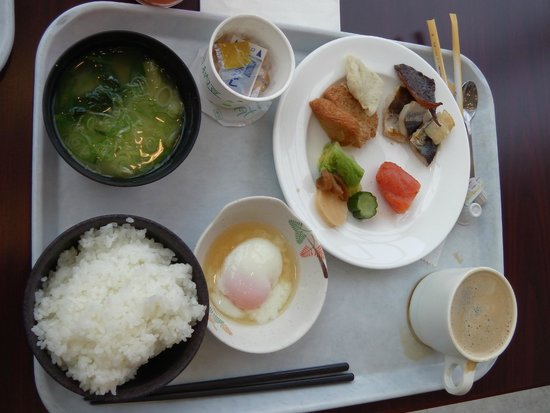 ANA Holiday Inn Resort MIYAZAKI : Japanese choice for breakfast