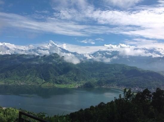 Peace Dragon Lodge: Phewa lake & Machhapuchhre