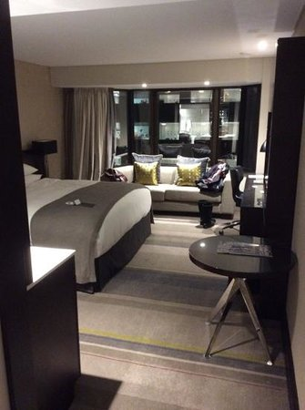 InterContinental Wellington: newly renovated room