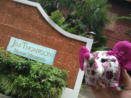 Casa de Jim Thompson: L'entrée