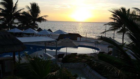 Azul Beach Resort Riviera Maya: Vista desde la Habitacion # 506