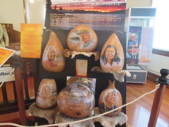 Native American Artist Gourds, Genoa Courthouse Museum, Genoa, NV