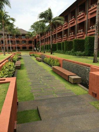 Hansar Samui Resort: Hotel area
