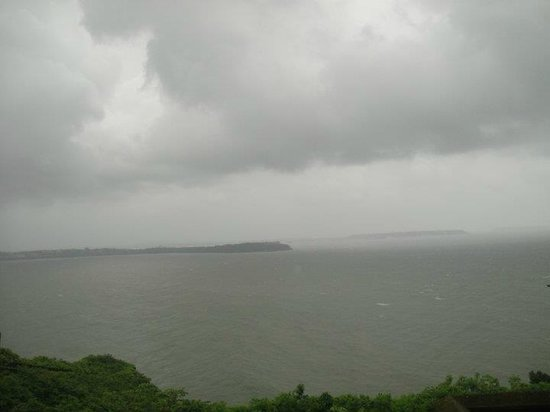 Fort Aguada: View from the western wall