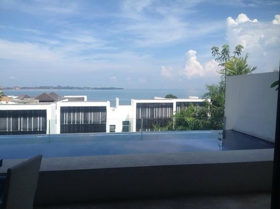 Montigo Resorts Nongsa: view from our villa deck - yes that is our own private pool