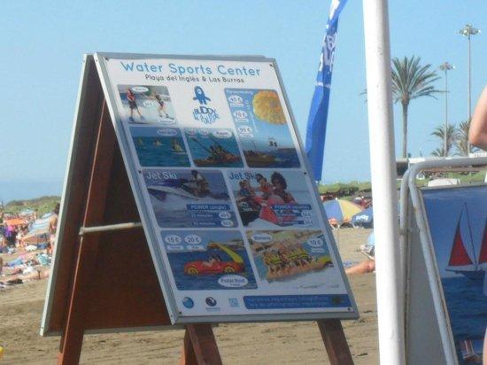 Turbo Club: BEACH IN PLAYA DE INGLES