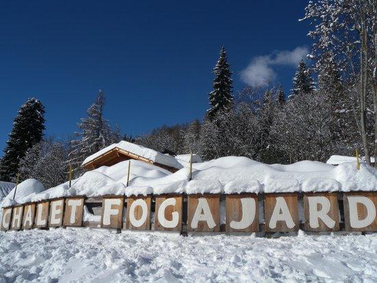 Chalet Fogajard: Dal bosco