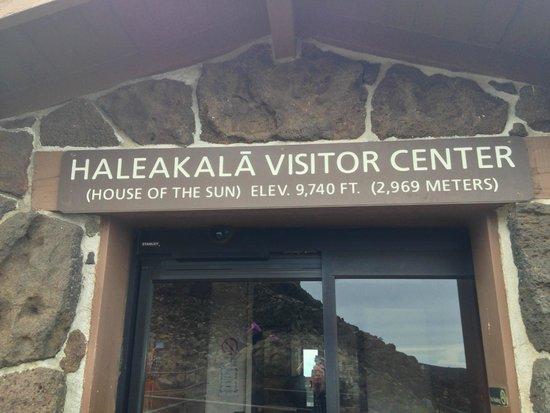 Haleakala Crater: Haleakala visitor center