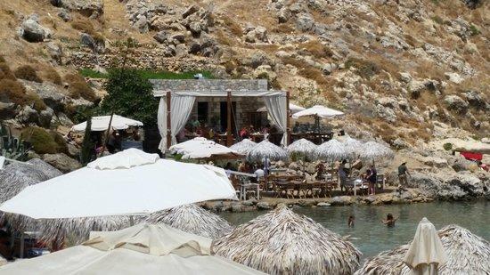 Agios Pavlos Beach (Saint Paul): Ristorantino della Baia