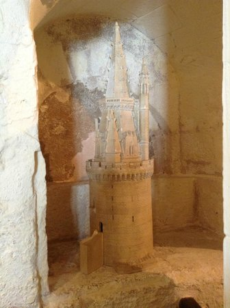 Tours de La Rochelle : Макет башни