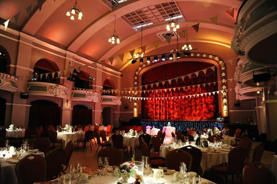 King's Hall and Winter Garden: King's Hall ready for our wedding breakfast