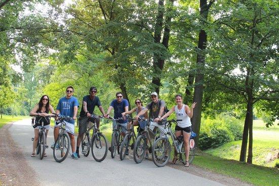 Praha Bike -  Bicycle Tours & Rentals : the tour group