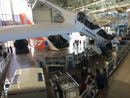 Future of Flight Aviation Center & Boeing Tour: :-)