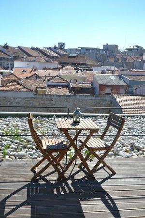 DesignOportoFlats : outside terrace
