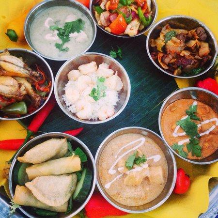 Hostal Villa Ampurdan: Plate to share!