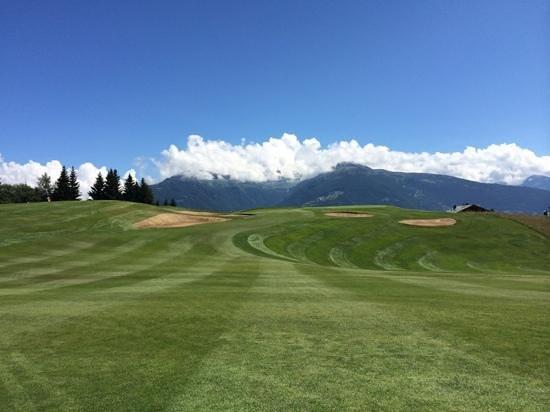 Golf Club Crans-sur-Sierre : inoubliable