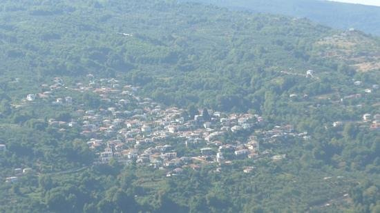 Pelion Resort : on the drive from Portaria to Horefto