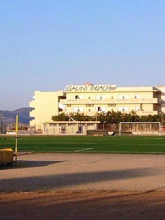Galini Beach Hotel: L'hotel Galini