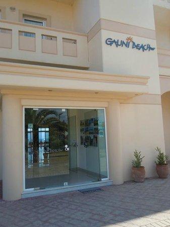 Galini Beach Hotel: Entrata