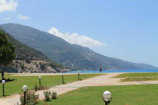 Club Belcekiz Beach Hotel: La plage