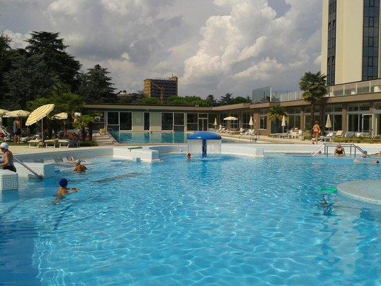 Continental Terme Hotel: Alcune piscine esterne