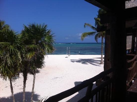 PavoReal Beach Resort Tulum: vue de notre balcon