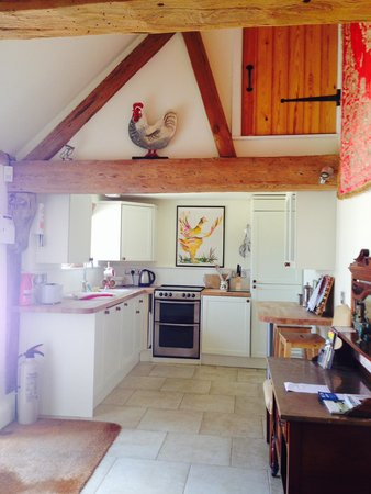 Ranvilles Farmhouse B&B and Self-Catering: The kitchen