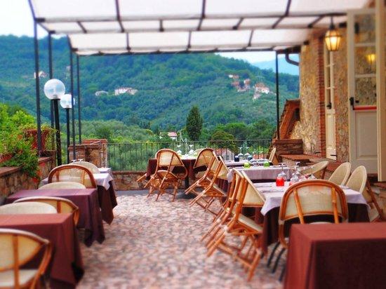 Hotel Villa Volpi : 併設レストラン