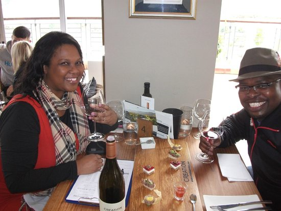 Creation Wines: Celebrating my birthday and our engagement