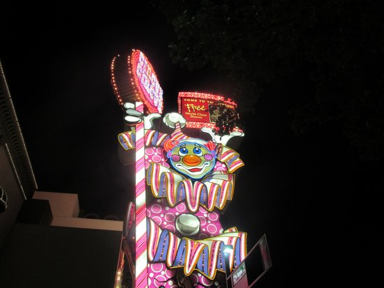 Circus Circus Casino, Reno, Nevada - The Clown