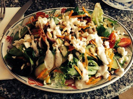 The Tiffin Box: My amazing salad