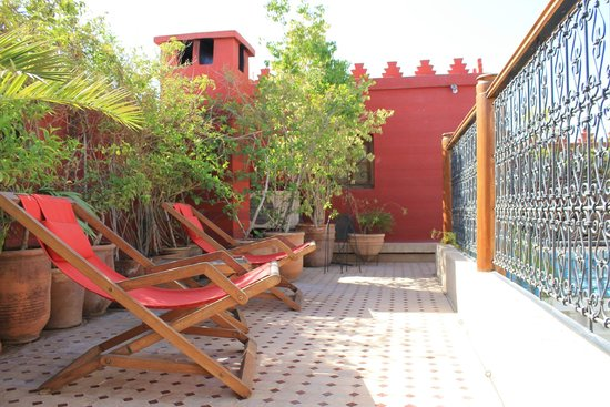 Riad Asrari : La terrasse