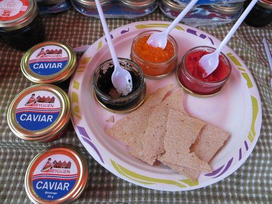 Fish Market : Degustazione di caviale