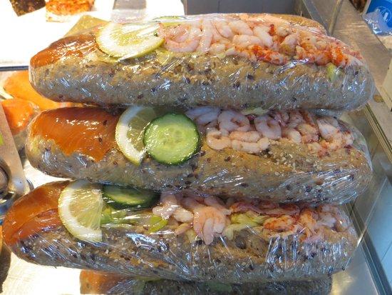 Fish Market : Panini di pesce fresco....