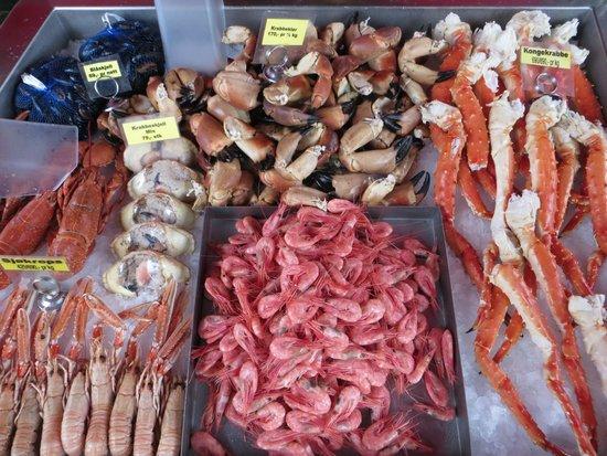 Fish Market : parata di pesce appena pescato