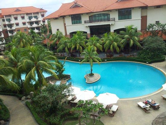 Holiday Inn Resort Batam: snapshot from balcony too