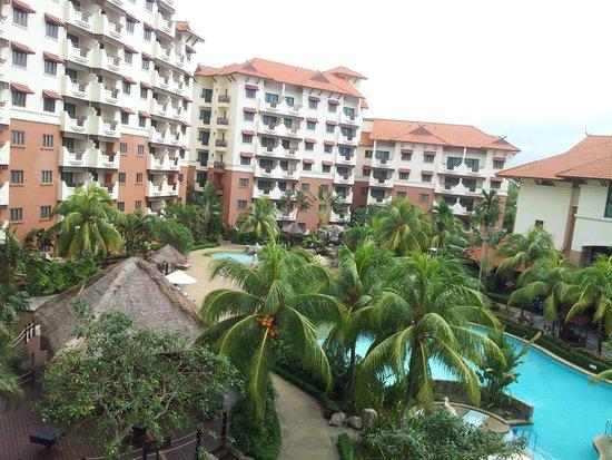 Holiday Inn Resort Batam: Another snapshot from balcony