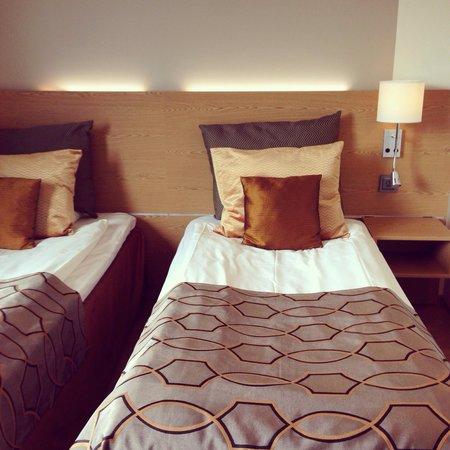 Hotel Savoy Mariehamn: Hyvät sängyt