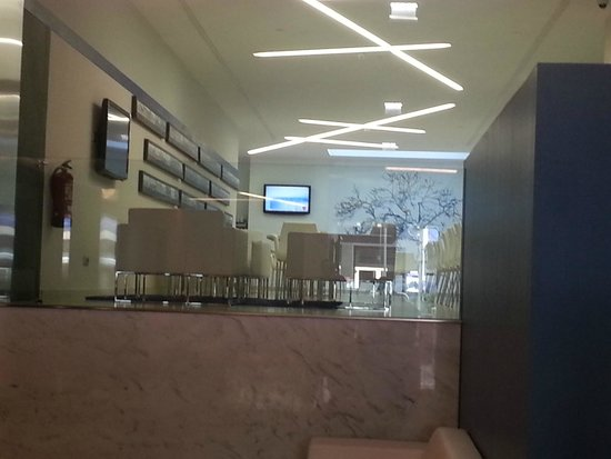 Sercotel Blue Coruña: view of the lounge from reception