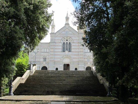 Santuario di Montallegro: Вид на Сантуарио