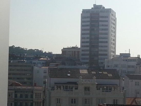 Sercotel Blue Coruña: view from 10th floor
