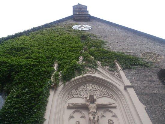 St. Blasius Church : Salzburg - St. Blasius Kirche - front facade