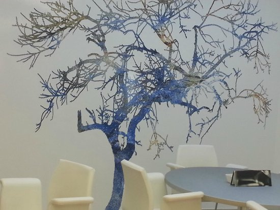 Sercotel Blue Coruña: decor in the lounge
