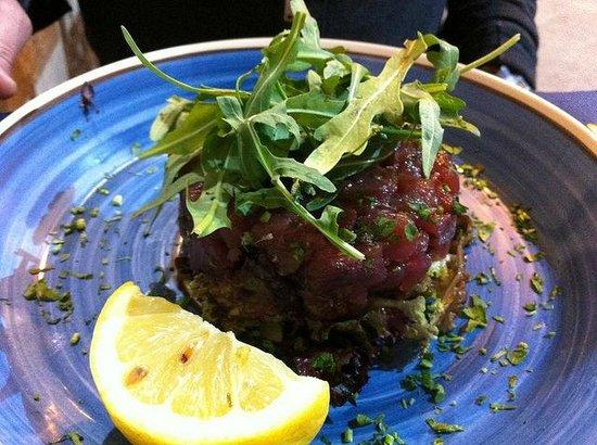 Sicilia in Tavola : tuna tartare